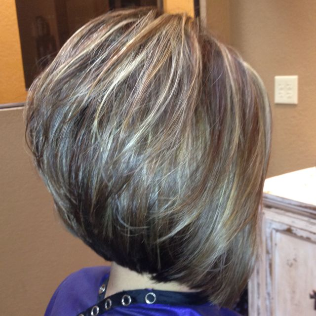 hair styles for thin hair layered stacked bob stacked layered bob hairstyles 8467