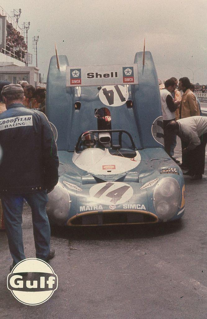 François Cevert / Howden Ganley - Matra-Simca MS670 - Équipe Matra-Simca Shell - XL Grand Prix d´Endurance les 24 Heures du Mans - 1972 World Championship for Makes, round 9 - Challenge Mondial, round 5