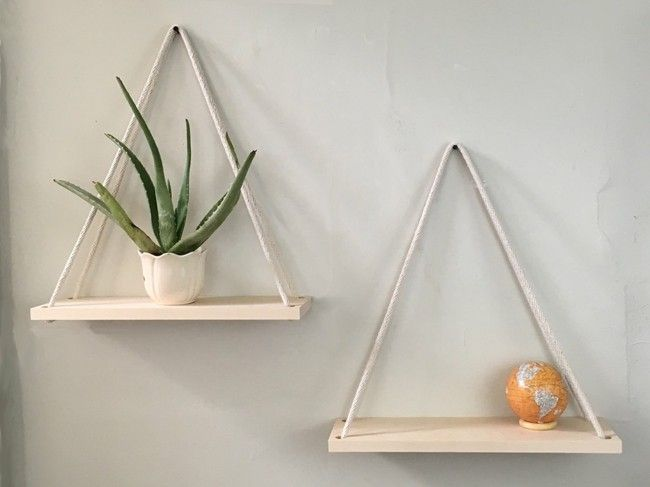 DIY Hängende Regale selber basteln – Ideen und Designs