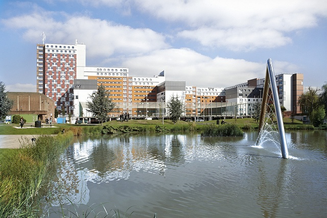 The Vice Chancellor's lake by Aston University, via Flickr