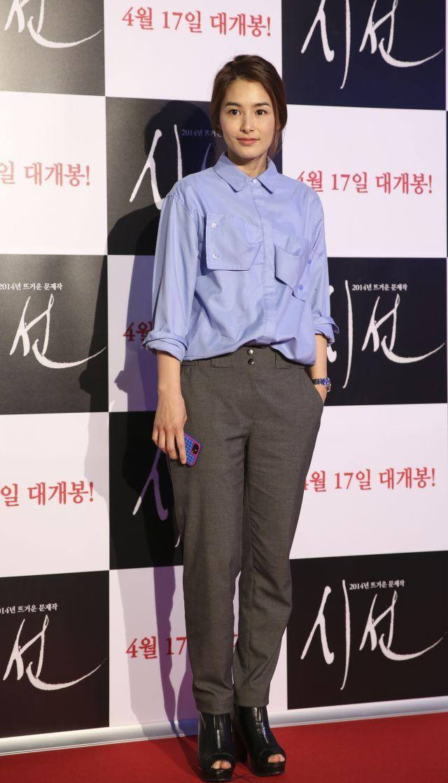"Kang Hye-jeong [Photos] VIP premiere for the upcoming Korean movie ""God's Eye View"" @ HanCinema :: The Korean Movie and Drama Database"