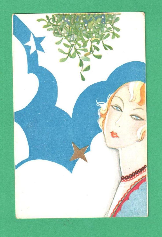 The 25 best dictionary of symbols ideas on pinterest name rare vintage bevilacqua art deco christmas postcard beautiful lady mistletoe 20000 welcome to merrythoughts buycottarizona