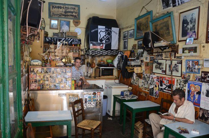 «Σαρανταυγά», Ηράκλειο / kafeneion in Crete