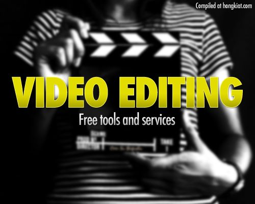 30 Video Editing Software And Online Tools