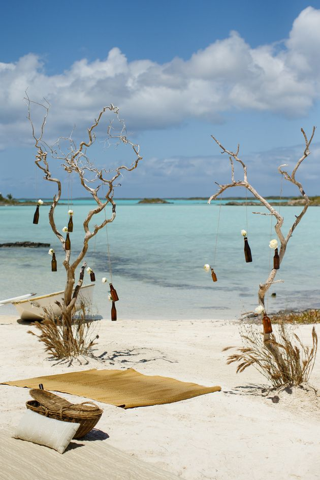 Rustic Beach Wedding Inspiration Shoot In The Turks and Caicos   photo by Chanelle Segerius-Bruce at @Brilliant Studios