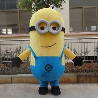 High quality Despicable Me 2 Mascot Costume Despicable me minion Costume mascot fancy Cartoon costume Free Shipping (1870656404)  SEE MORE  #SuperDeals