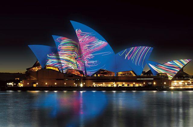 Vivid Sydney is now the world's largest festival of Light, Music and Ideas. #VividSydney #seeaustralia #visitnsw