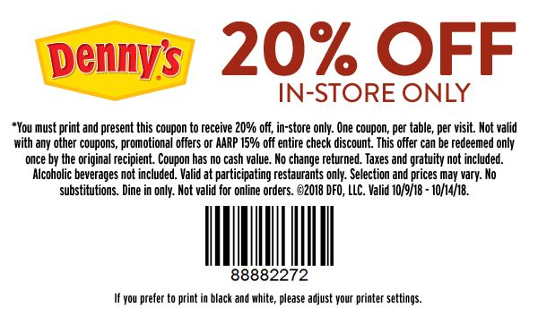 Pin by Deb Doolen on WOOOWW Pic's Dennys coupons
