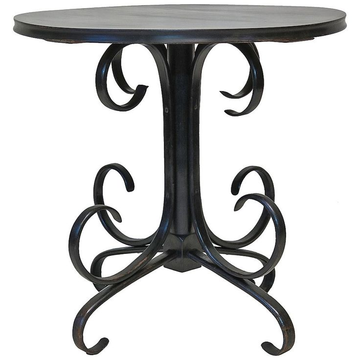 Ebonized Bentwood Table 19th Century Table Side Table Table 19