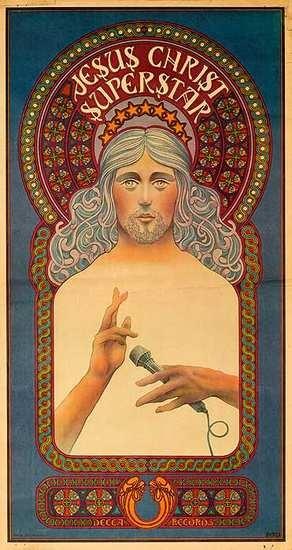 DP Vintage Posters - Jesus Christ Superstar Original Rock and Roll Play Poster