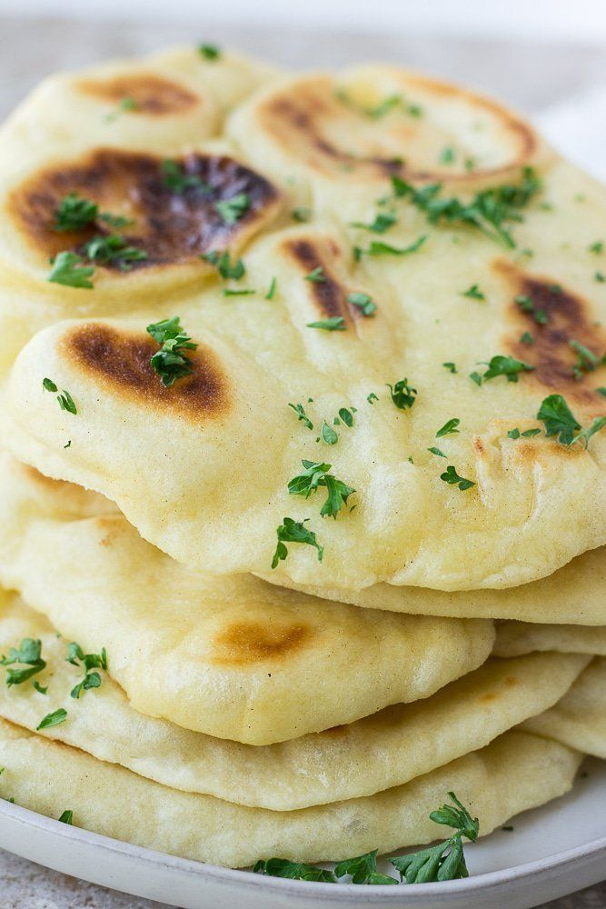 Easy Vegan Naan Recipe So Soft Fluffy And Easy To Make