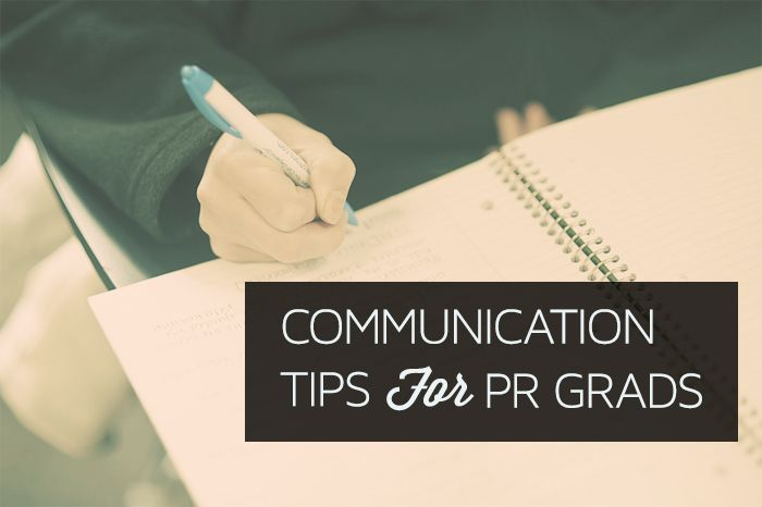 Job Tips for PR Grads