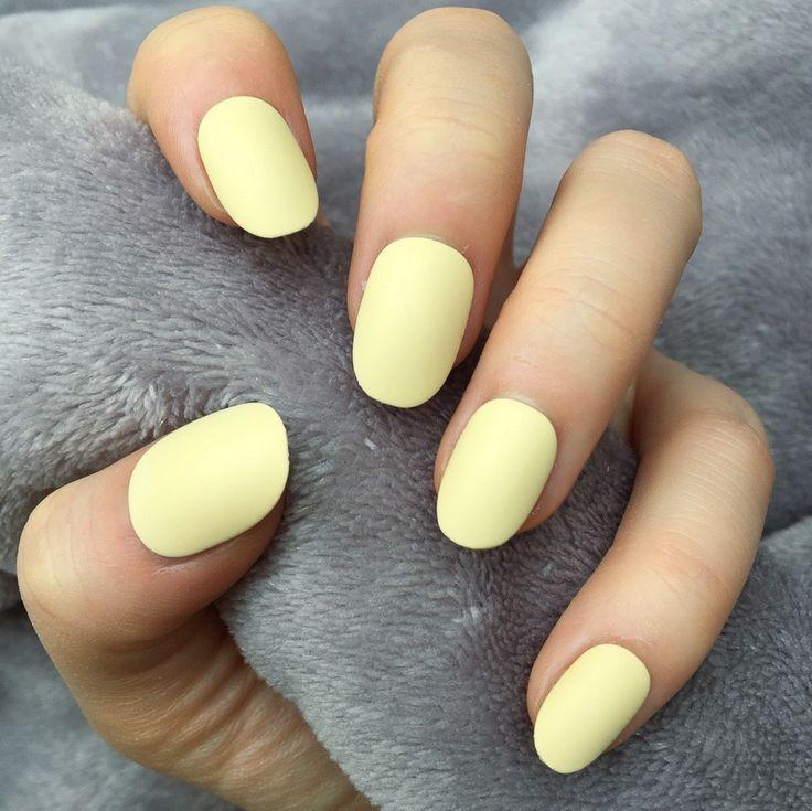 yellow nail polish matte – Google Search