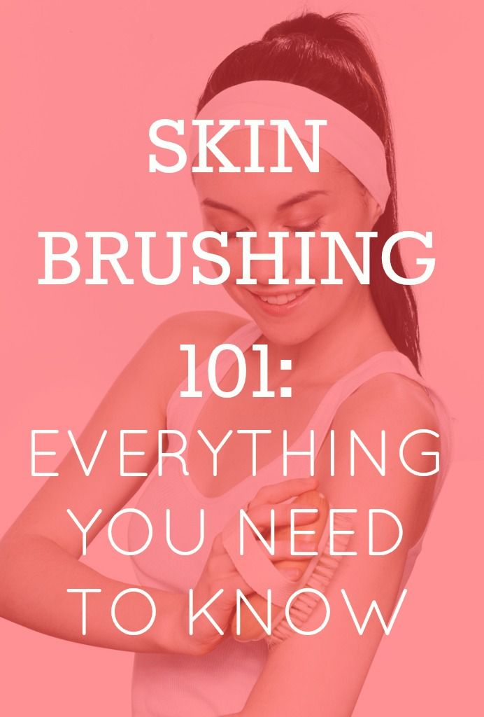 I love dry brushing! I beautyinthebag skintips winterbeauty drybrushing
