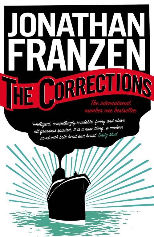 La più bella copertina in assoluto: Le Correzioni - Franzen