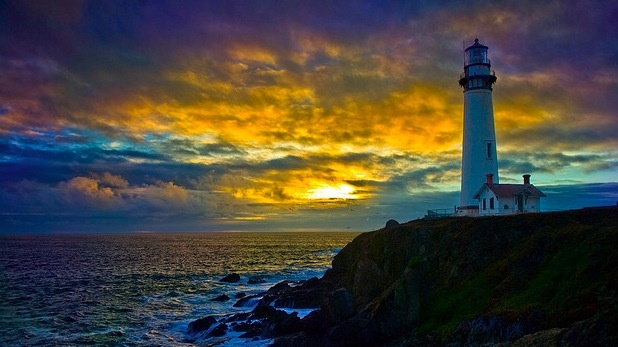 Pigeon Point Light House in California