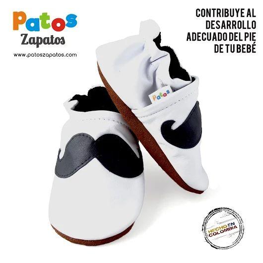 Diseño mostacho (bigote). Zapatos para comenzar a caminar. patoszapatos.com - Patos Zapatos - Google+