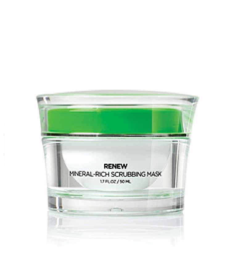 Size: 1.7 FL. OZ / 50 ML  Renew your skin's youth and beauty. RENEW Mineral-Rich Scrubbing Mask is a unique combination of facial scrub and mask, enriched with minerals from the shores of the Dead Sea, designed to give your skin a deep, refreshing clean. Specially formulated for all skin types,...