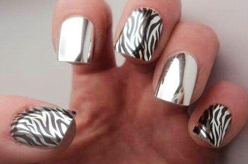 Металическая зебра