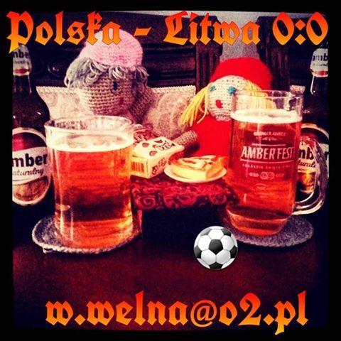 Polska remisuje bezbramkowo z Litwą 0:0! ⚽  http://welna.blog.onet.pl w.welna@o2.pl  #polskalitwawkrakowie #polskalitwa #lewandowski #blaszczykowski #krychowiak #milik #nawałka #welna #szydełkowanie #szydełko #Kraków #laczynaspilka #browaramber