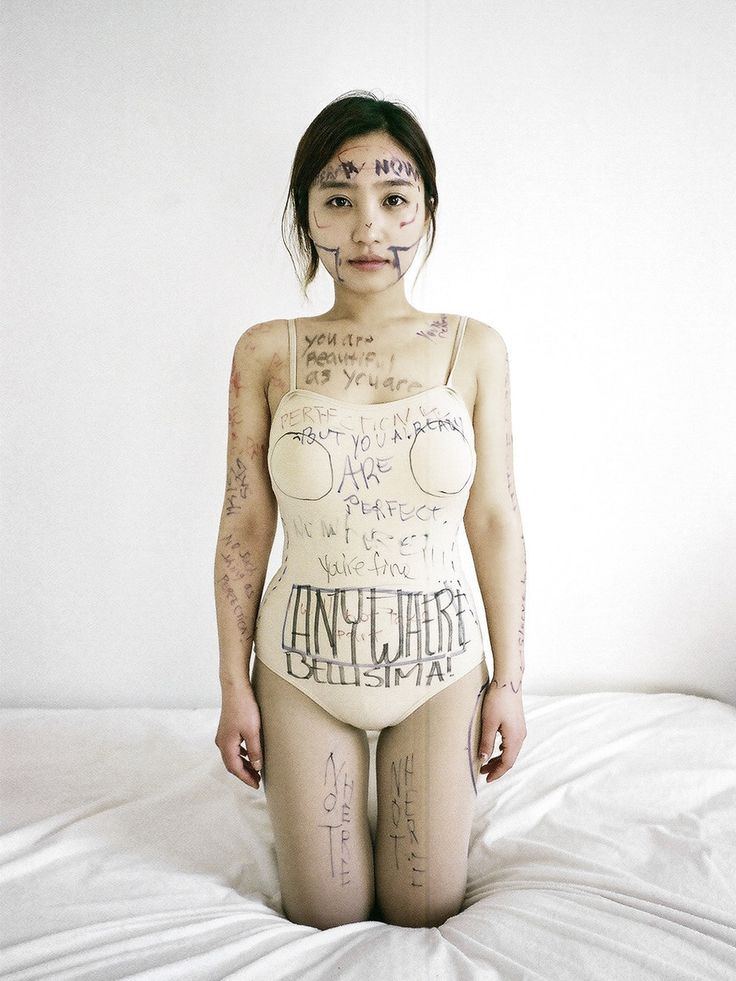 Heartbreaking that people feel this way. 19 Grotesque Portraits Taken Directly After Plastic Surgery