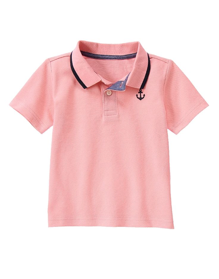 477 best gymboree kids outfits easter church for Baby pink polo shirt