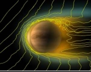 Expertos alemanes han analizado la cola que a veces aparece junto a Venus y han determinaron que se trata de una especie de globo de plasma en la cara del planeta opuesta al sol, anunció hoy el Instituto Max Planck de Investigación del Sistema Solar (MPS).