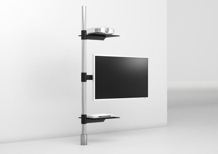 TV-holder post art129-2 | Product Design | Wissmann Raumobjekte