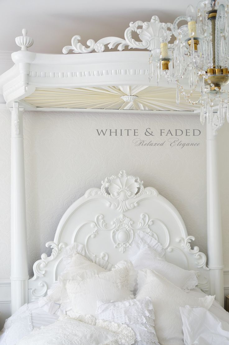 French white bedroom