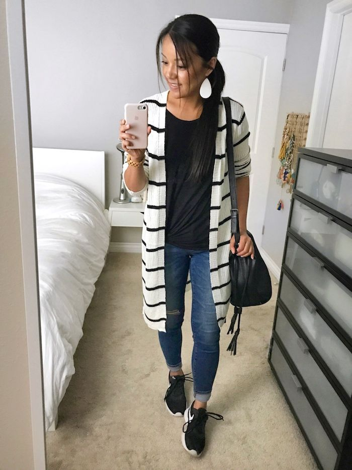 17d20d6fc70 Instagram Outfits  29 + Super Affordable Long Cardigans In Stock ...