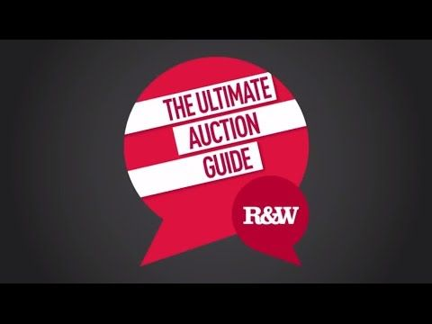 The Ultimate Auction Guide - YouTube