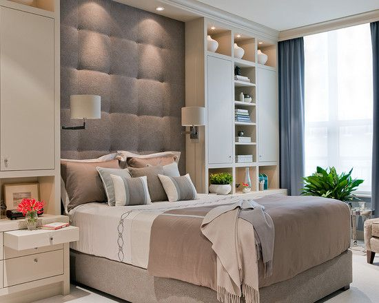 Bedroom Built-in Cabinets Design, Pictures, Remodel, Decor and Ideas - page 22