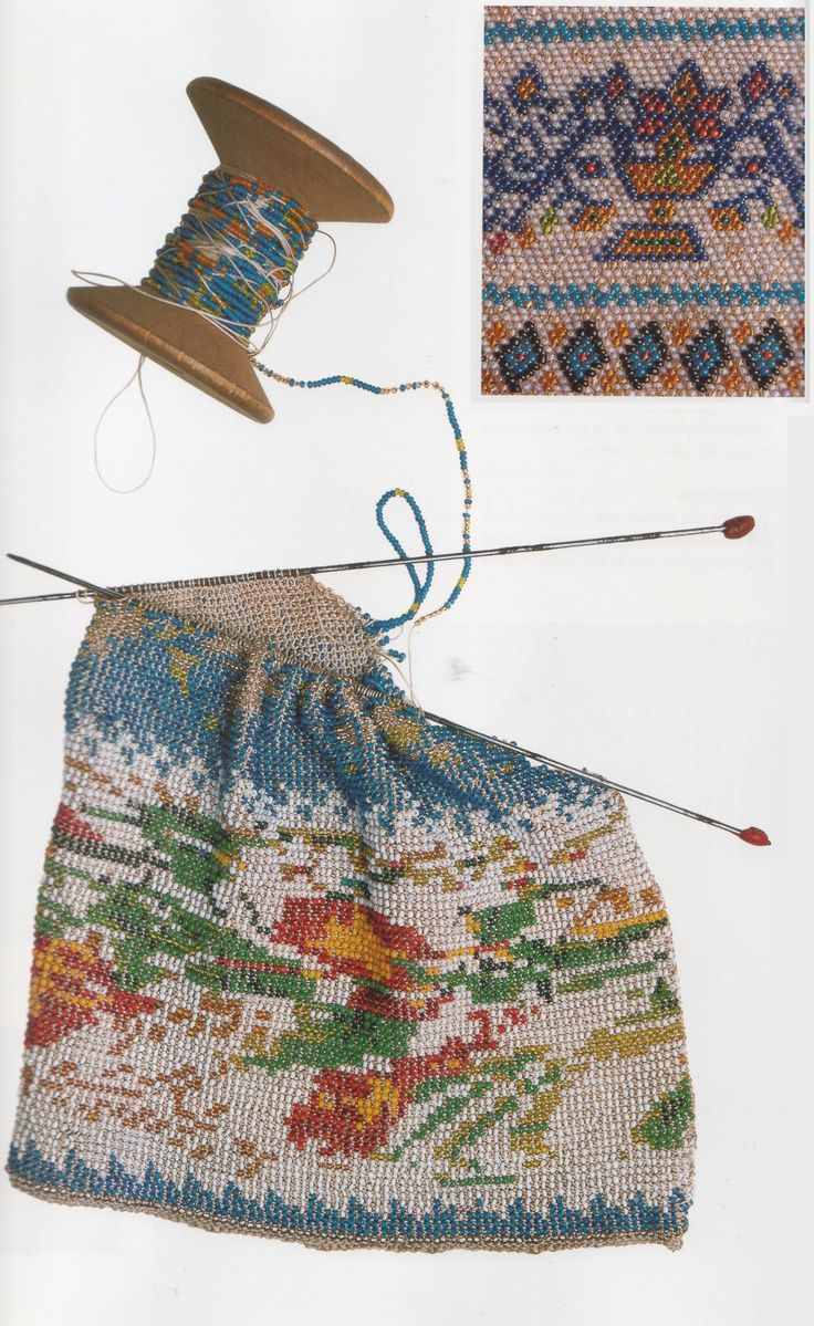 knitting with beads instructions