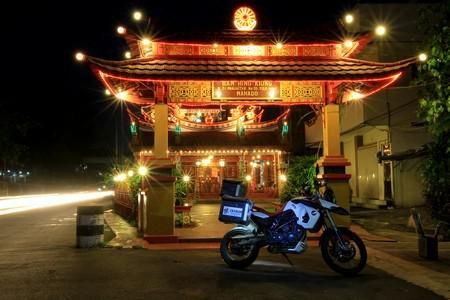 Ban Hin Kiong Chinese temple at Menado city, North Sulawesi.....