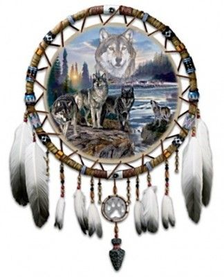 Native American Dream Catchers | Native American Leather Dreamcatcher Gift | All The Very Best