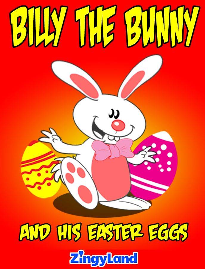 Billy the Bunny and his Easter Eggs