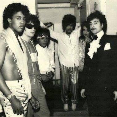 Vintage Prince - Dez Dickerson, Brown Mark, Dr. Fink, Bobby Z. and Lisa Coleman