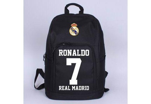 Real Madrid Cristiano Ronaldo laptop schoolbag backpack - Fan Club|Fandomsky