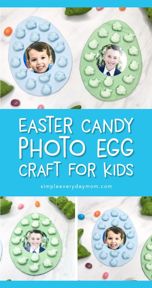 Easter Egg Photo Craft For Kids Easter Ideas For Kids Crafts For