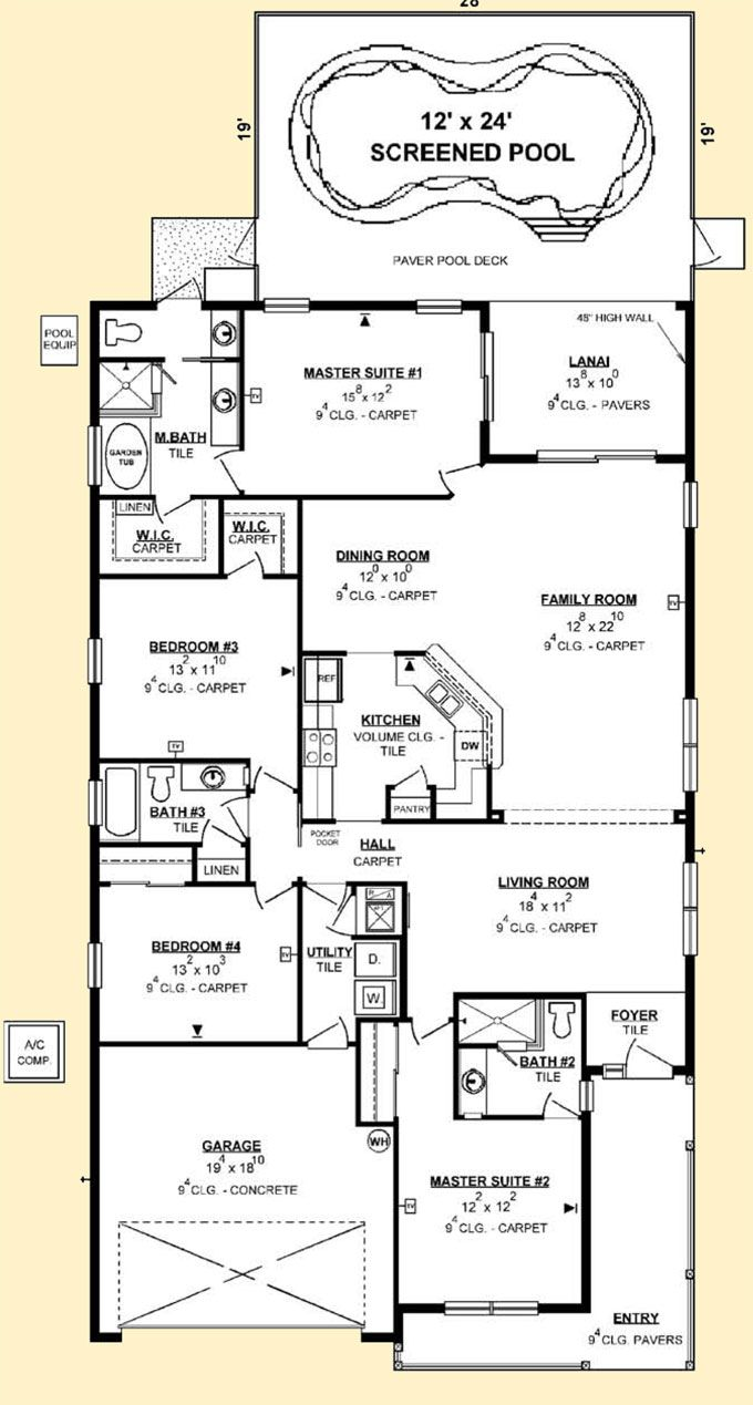 The 25 best free floor plans ideas on pinterest Create your own floor plan free online