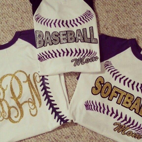 Baseball- Softball Mom shirts