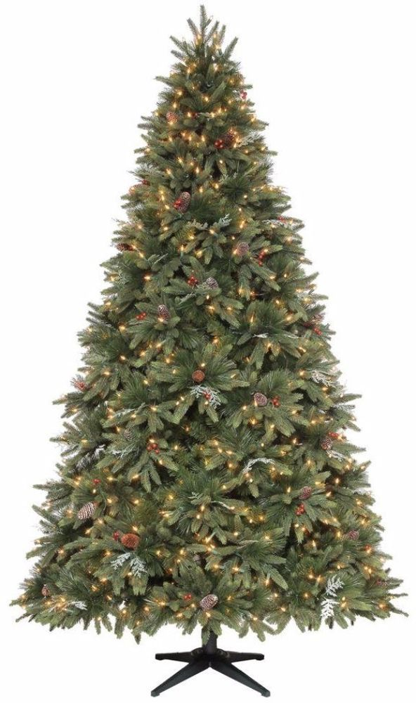 Pre Lit Slim Artificial Christmas Tree with 900 Clear Lights Holiday Decor 9 Ft. #PreLit #ArtificialTree #SlimTree #ChristmasTree #Artificial #ChristmasDecor #ChristmasTreeDecor #Decor #900ClearLights #ClearLights #Lights #HolidayDecor