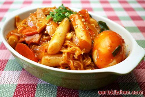 RaBokkI | Aeri's Kitchen | Cooking Korean Recipes & Food