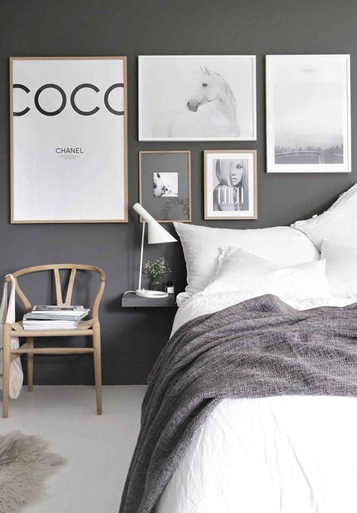 25+ best ideas about Grey bedroom walls on Pinterest   Grey ...