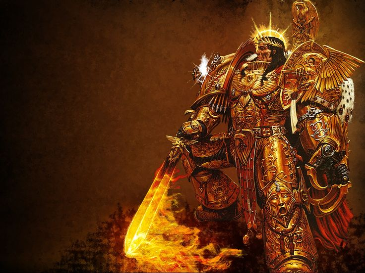 The Immortal God Emperor Of Mankind - Warhammer 40K