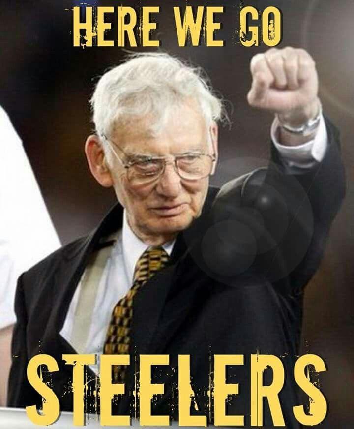 Here we go, Steelers!