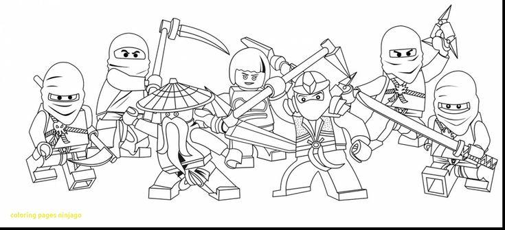 lego ninjago coloring pages and page  ninjago