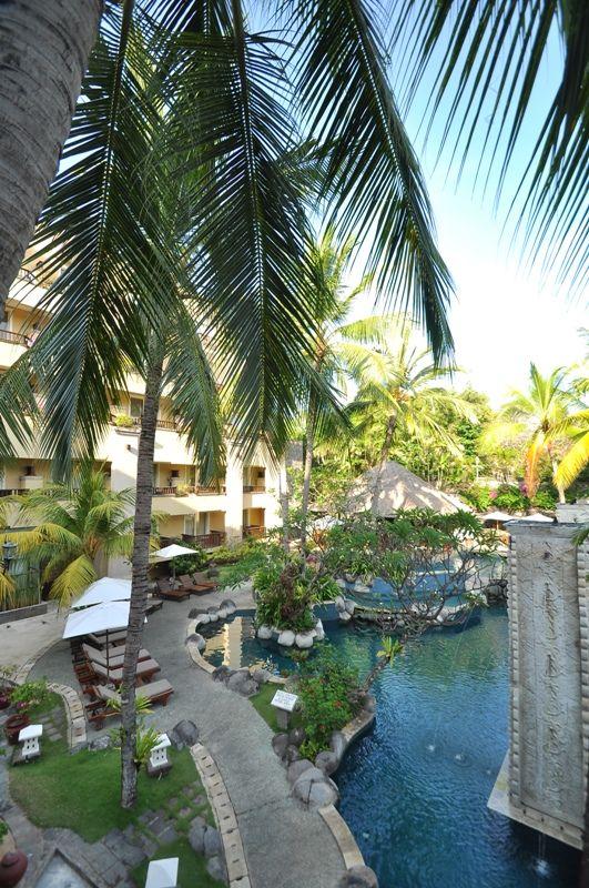 Laguna pool at Kuta Paradiso Hotel Bali