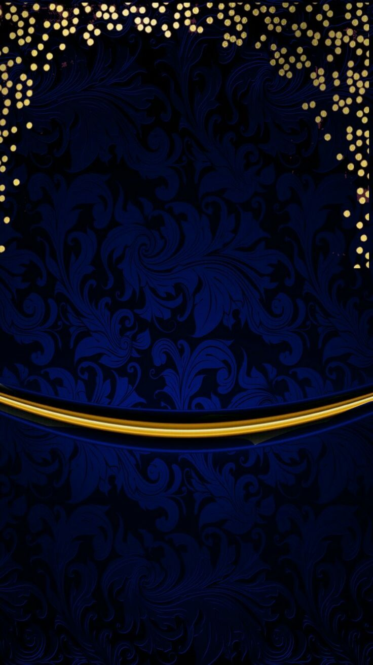 Blue and gold Gold wallpaper iphone, Gold wallpaper