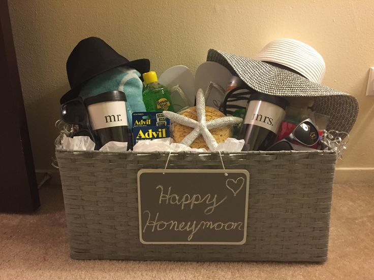 Get all the bridemaids to make a basket to give the bride on her wedding day!